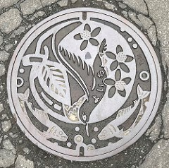 COMMEMORATIVE MANHOLE COVERS