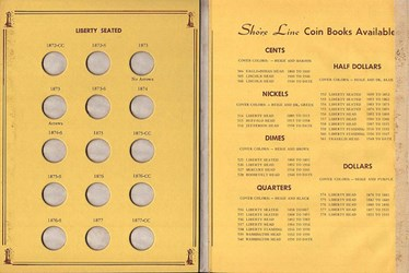 LANGE OFFERS COIN FOLDER LIST #104