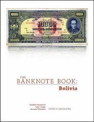NEW BOOKS: THE BANKNOTE BOOK: BOLIVIA, ROMANIA
