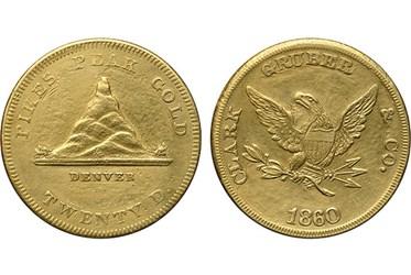 BONHAMS OFFERS CLARK GRUBER TERRITORIAL GOLD