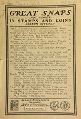 ST. LOUIS STAMP & COIN COMPANY PRICE LISTS SCANNED