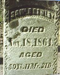 SAMUEL BARKER BOWLBY (1804-1864)