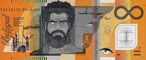 AUSTRALIAN ARTIST'S BLOOD MONEY NOTES
