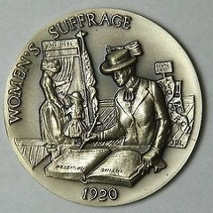 WOMEN'S SUFFRAGE MEDALLIC ART COMPETITION