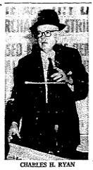 BROOKLYN COIN CLUB PRESIDENT CHARLES H. RYAN