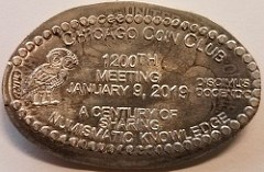 CHICAGO COIN CLUB 1,200TH MEETING