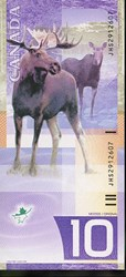 CANADA'S VERTICAL NOTE THAT ALMOST WAS