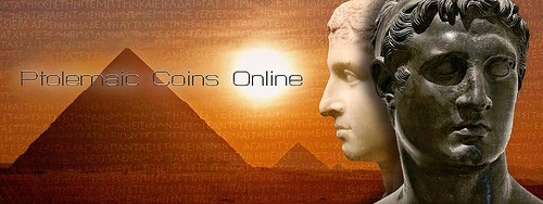 PTOLEMAIC COINS ONLINE ANNOUNCED