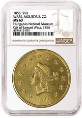 HUNGARIAN NATIONAL MUSEUM SAMUEL WASS COINS