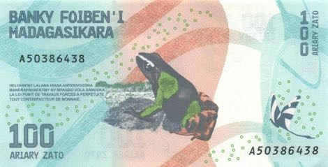 HOW A FROG PHOTO WOUND UP ON A BANKNOTE