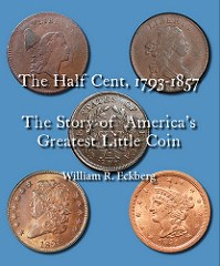 NEW BOOK: THE HALF CENT, 1793-1857