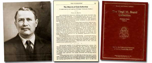 VIRGIL BRAND ON THE OBJECTS OF COLLECTING
