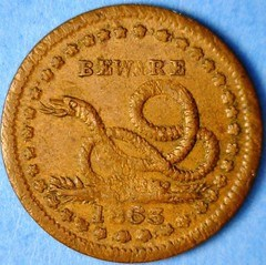 COPPERHEAD TOKENS OF THE CIVIL WAR