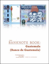BANKNOTE BOOK GUATEMALA CHAPTER PUBLISHED