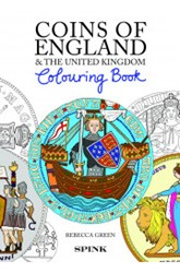 NEW BOOK: COINS OF ENGLAND COLOURING BOOK