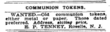 EDWARD PAYSON TENNEY (1844-1912),