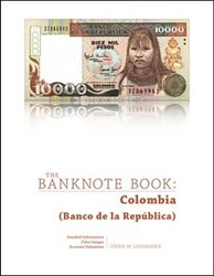 BANKNOTE BOOK COLOMBIA CHAPTER PUBLISHED