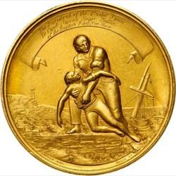 1861 GOLD LIFE SAVING MEDAL