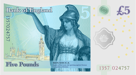 FIRM REPLACES MEN ON BANKNOTES WITH WOMEN
