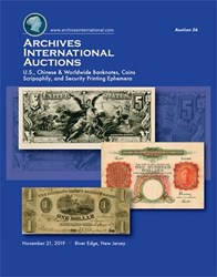 ARCHIVES INTERNATIONAL SALE 56 ANNOUNCED