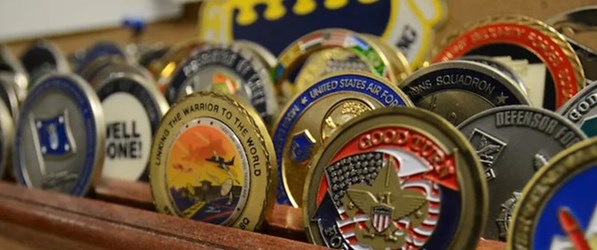 OPINION: TOO MANY CHALLENGE COINS