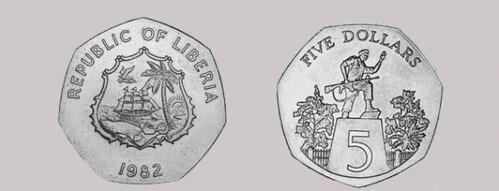 THE LIBERIA DOE COIN