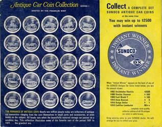 THE SUNOCO ANTIQUE CAR COIN COLLECTION