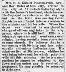 HARRIET HATTIE P. ELLIS HAINES (1825-1903)