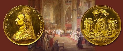 VICTORIA GOLDEN JUBILEE GOLD MEDAL