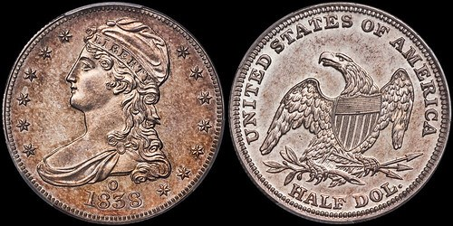 COX 1838-O HALF DOLLAR FINDS NEW HOME