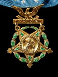 SMITHSONIAN EXHIBITS MCGRAW MEDAL OF HONOR
