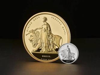 ROYAL MINT UNVEILS ITS LARGEST COIN EVER