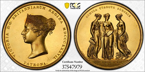 EDWARD RUMSEY ROYAL ACADEMY OF ARTS GOLD MEDAL