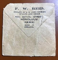 QUERY: DEALER F.W. REID HONOLULU, HAWAII