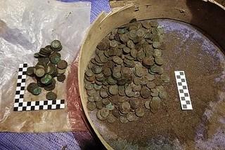 18TH CENTURY COIN HOARD FOUND IN KRAKOW, POLAND