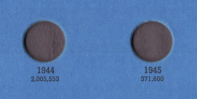 1945 SILVER THREEPENCE SURFACES