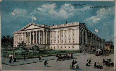 Mark Borckardt Numismatic Postcards (U.S. Treasury)