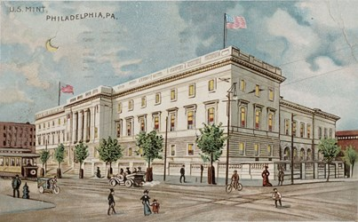Mark Borckardt Numismatic Postcards (U.S. Mint - Philadelphia)