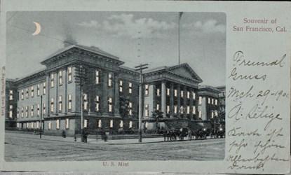 Mark Borckardt Numismatic Postcards (U.S. Mint - San Francisco)