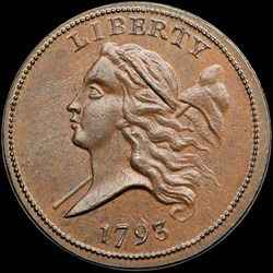Missouri Cabinet Collection of U.S. Half Cents