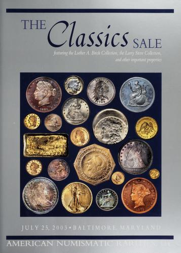 The Classics Sale: The Red Bank Collection (Auction catalog cover)