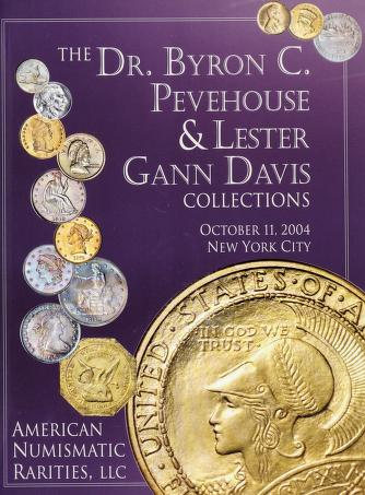 The Pevehouse & Davis Collections (Auction catalog cover)