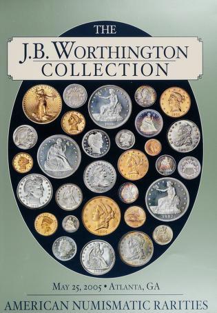 The Louis E. Eliasberg, Sr. Collection (Auction catalog cover)