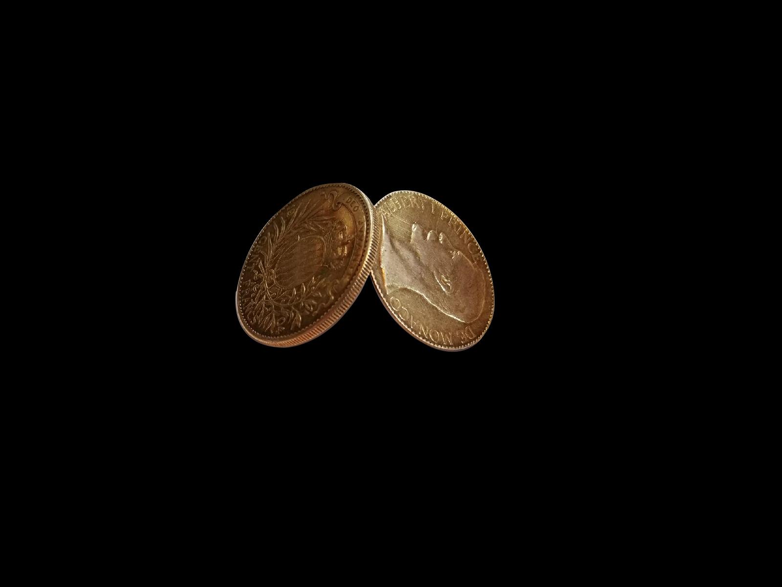1904 Monaco Box Coin