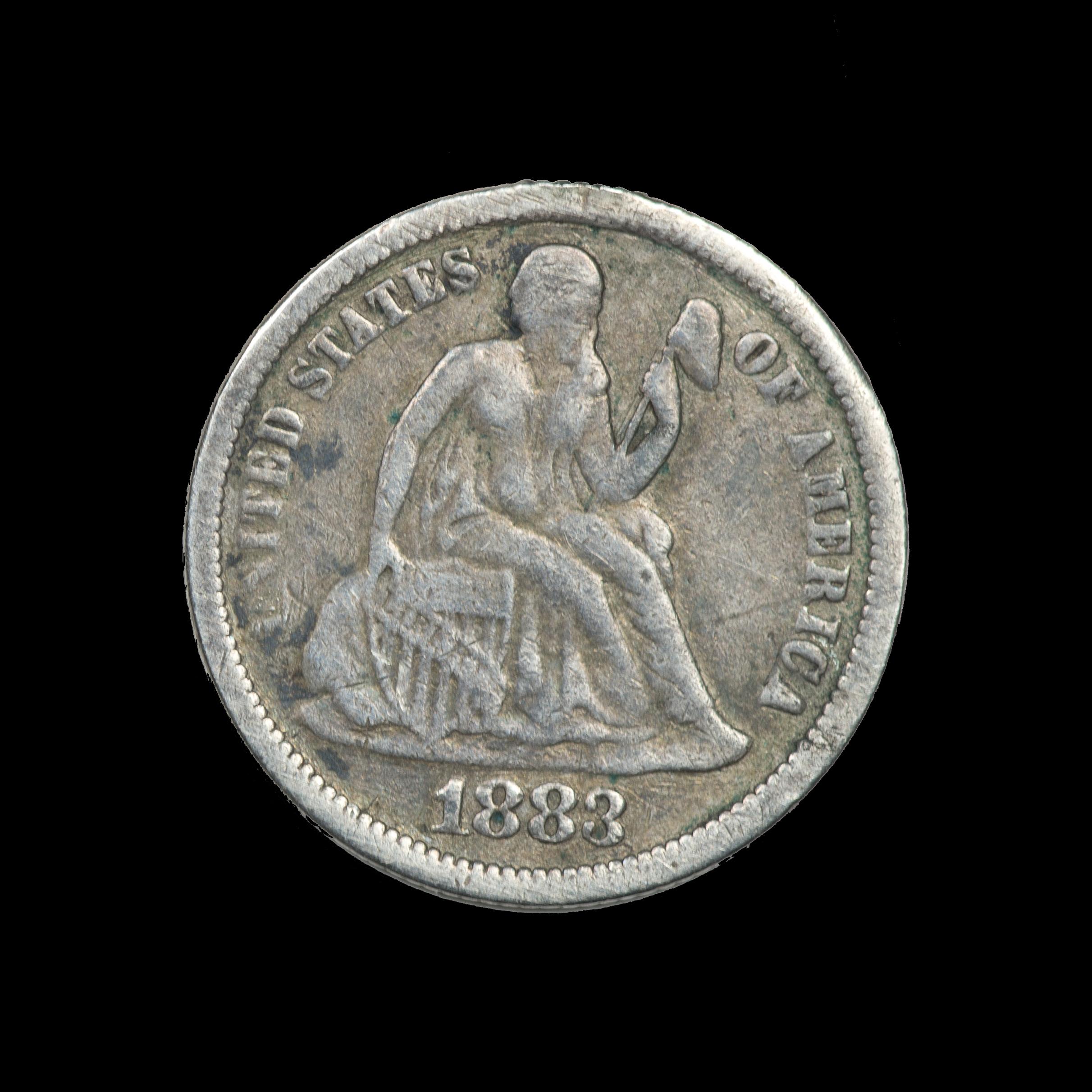 1883 Dime