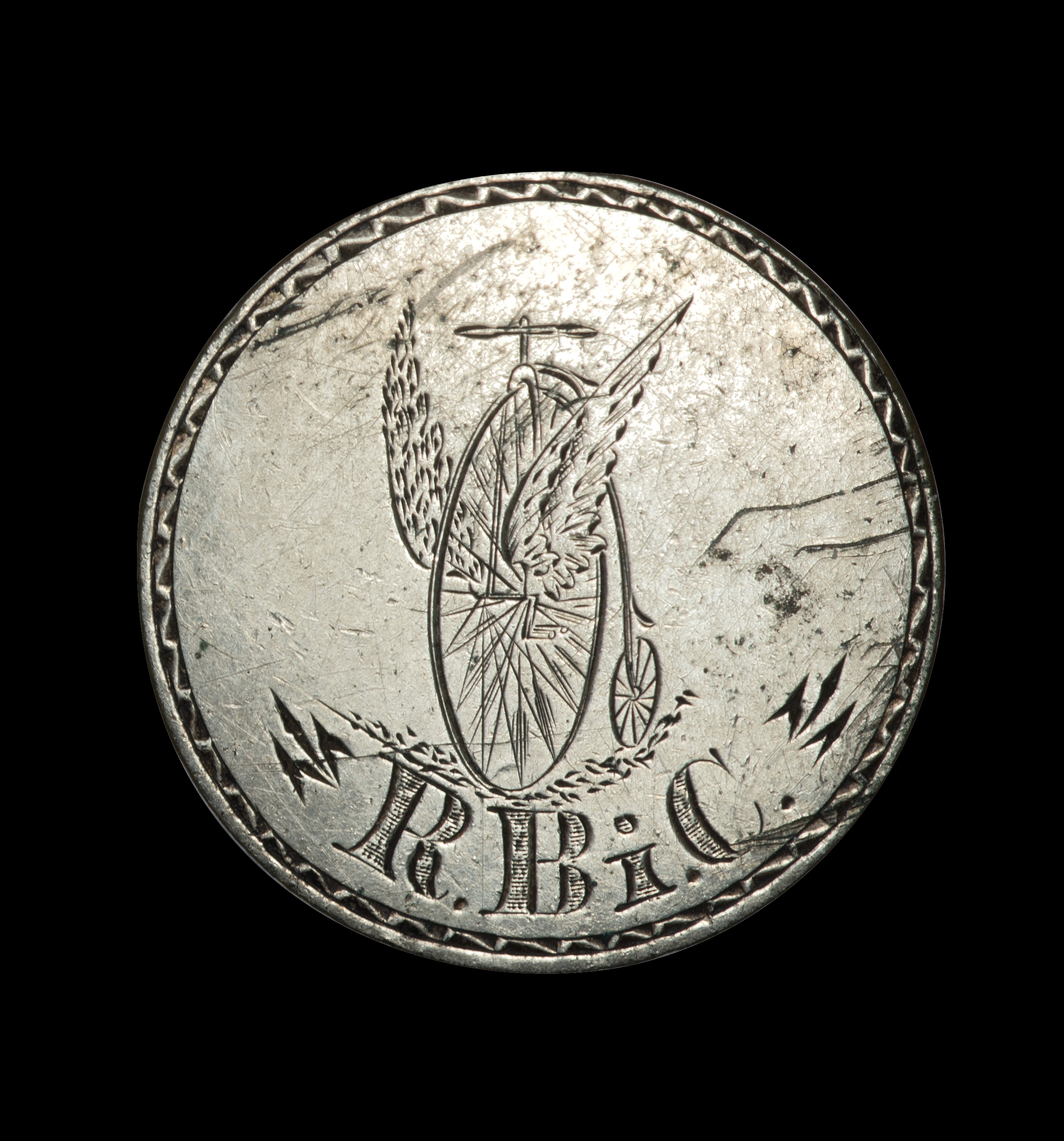 Engraved Two-Cent
