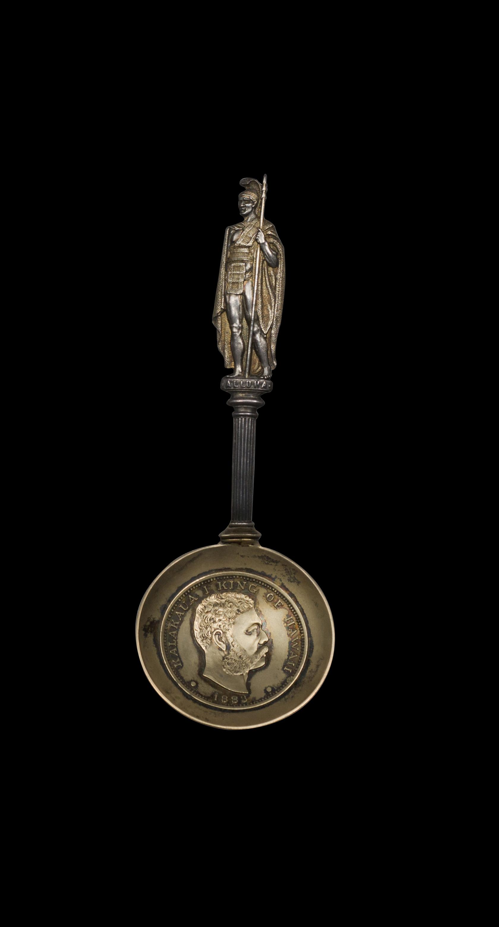 Hawaiian Coin Spoon