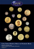Coins, Tokens, Historical Medals, Cabinets and Books (pg. 37)