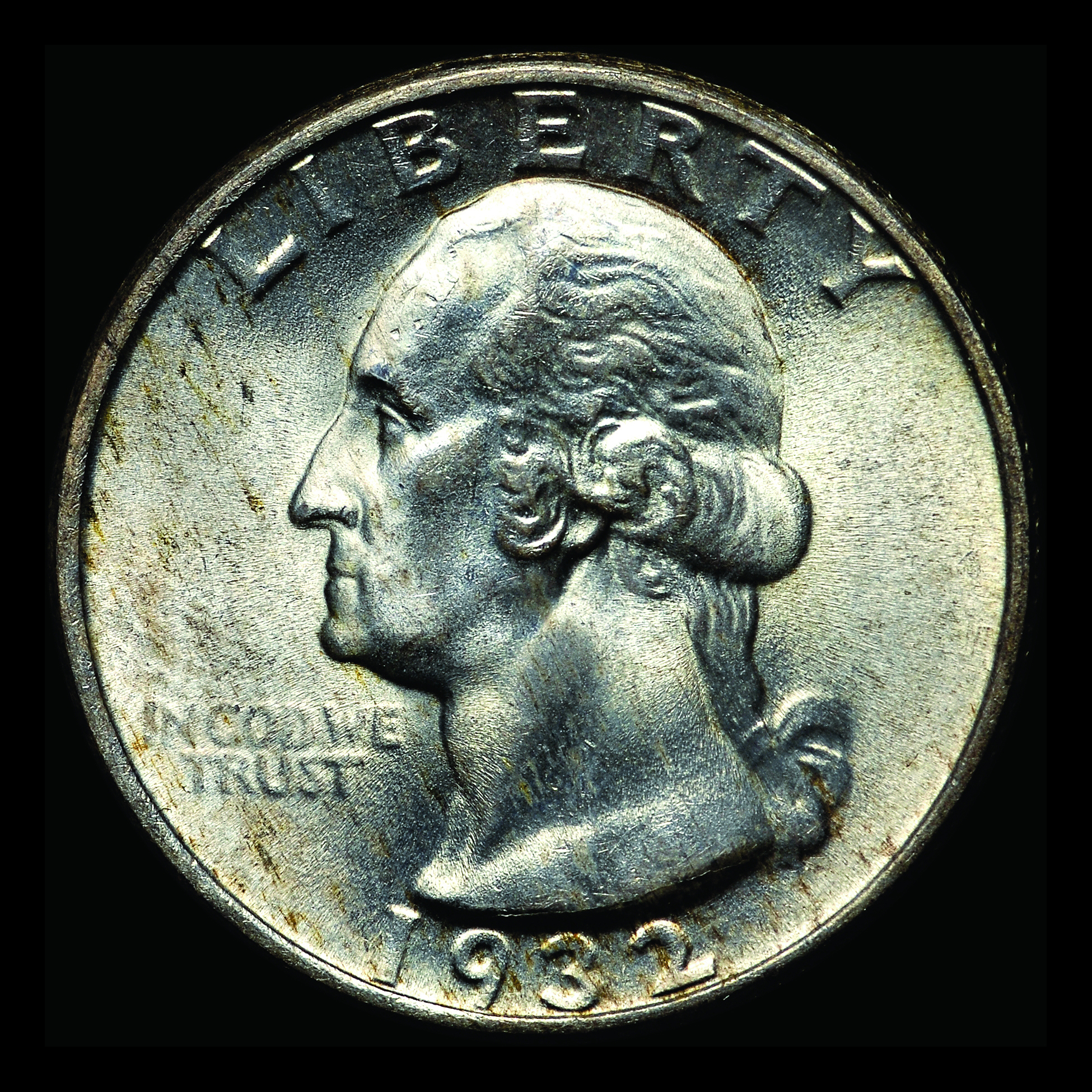 1972-S PROOF KENNEDY HALF DOLLAR RARE CAMEO CONTRAST CLEAN MIRROR FEILD