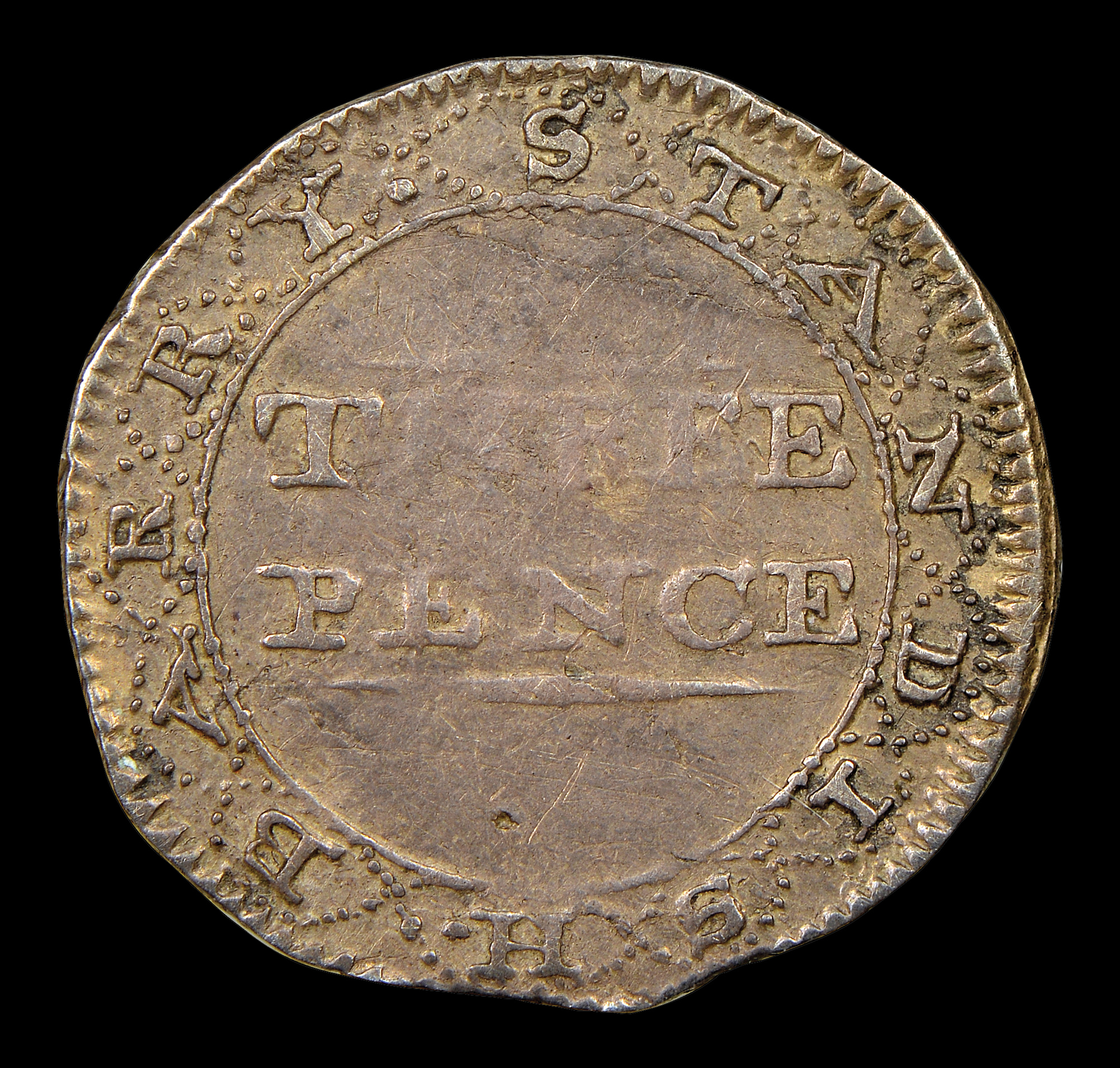 1000 threepence coins george elizabeth bulk Large Bag of Threepence Coins 1000